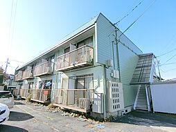 長野県長野市大字鶴賀七瀬南部の賃貸アパートの外観
