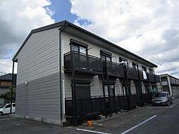 愛知県一宮市今伊勢町新神戸字郷前の賃貸アパートの外観