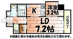 Studie KOKURA NORTH(スタディ小倉ノース)[5階]の間取り