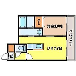 北海道札幌市北区北七条西8丁目の賃貸マンションの間取り