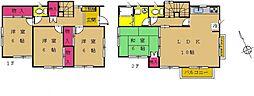 [一戸建] 神奈川県相模原市南区上鶴間本町9丁目 の賃貸【神奈川県 / 相模原市南区】の間取り