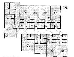 二俣川徒歩4分 新築アパート 208号室[208号室]の間取り