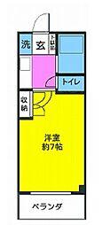 BiBi湘南[3階]の間取り