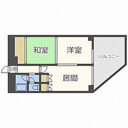 円山公園マンション[3階]の間取り