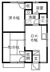 [一戸建] 静岡県浜松市東区宮竹町 の賃貸【/】の間取り
