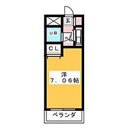 ハーベストヒルズ藤ヶ丘[2階]の間取り