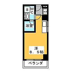 翔うらら[3階]の間取り