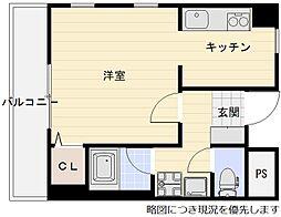 千里丘駅 徒歩3分3階Fの間取り画像