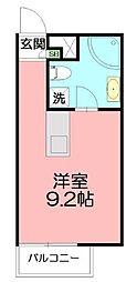 神奈川県藤沢市亀井野2丁目の賃貸マンションの間取り
