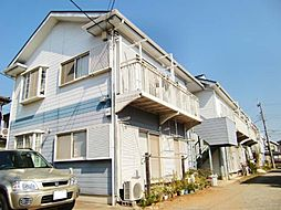 神奈川県茅ヶ崎市萩園の賃貸アパートの外観