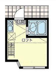 ユナイト町屋マリーナコンティ[1階]の間取り