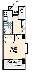 イオメールユノ[402号室]の間取り