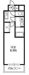 アーバンフラッツ新大阪II[3階]の間取り
