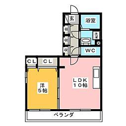 マグノリア[2階]の間取り