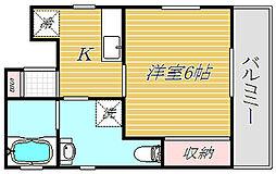 立石8丁目アパート[1階]の間取り