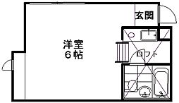 アーバン京王[2階]の間取り