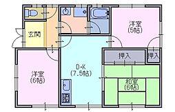 [一戸建] 奈良県奈良市菅原町 の賃貸【奈良県 / 奈良市】の間取り