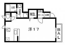 ヴィラアクティブ・エフII[102号室号室]の間取り