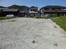 南から見た全景・造成後の写真。