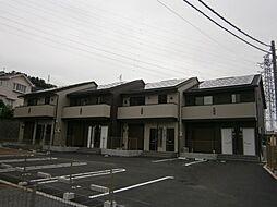 神奈川県平塚市根坂間の賃貸アパートの外観