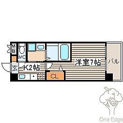 SWISS梅田東[7階]の間取り
