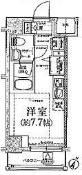 クラリッサ川崎グランデ[5階]の間取り