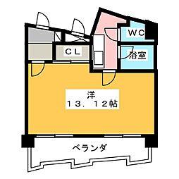 CITY M−56[9階]の間取り