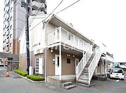 徳島県徳島市南昭和町5丁目の賃貸アパートの外観