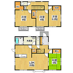 [一戸建] 茨城県つくば市松代2丁目 の賃貸【/】の間取り