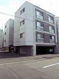北海道札幌市中央区北九条西18丁目の賃貸マンションの外観