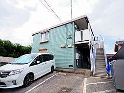 埼玉県新座市畑中2の賃貸アパートの外観