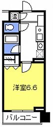 ロイヤルハイツ常盤[107号室号室]の間取り