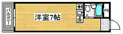 熊野町ハイツ[2階]の間取り