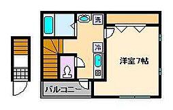 [一戸建] 東京都葛飾区堀切7丁目 の賃貸【/】の間取り