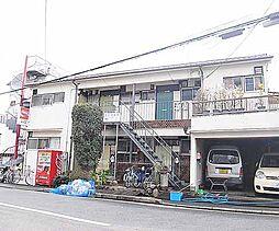 京都府京都市左京区吉田神楽岡町の賃貸アパートの外観