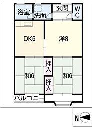 chateau 88[2階]の間取り