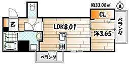 Legend113[908号室]の間取り
