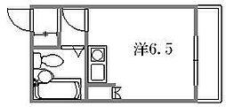 アクサ吉島通り[401号室]の間取り