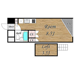Villa・Liaison[311号室]の間取り
