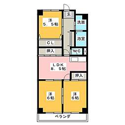 Century21[2階]の間取り