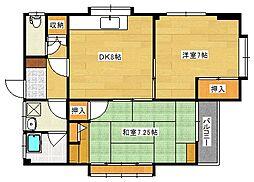 [一戸建] 広島県呉市広大新開2丁目 の賃貸【/】の間取り