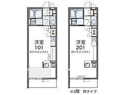 レオネクストマメゾン吹上富士見[306号室]の間取り