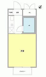 OLIVE HOUSE[2階]の間取り