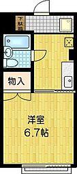 SKBマンション[3階]の間取り