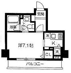麻布十番レジデンス[5階]の間取り