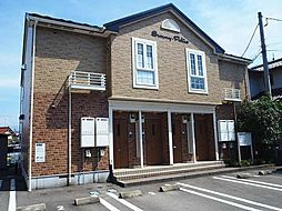 富山県富山市長江1丁目の賃貸アパートの外観