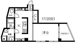 イブニングテラス[3階]の間取り