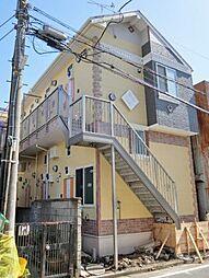 神奈川県横浜市鶴見区仲通2丁目の賃貸アパートの外観