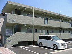 兵庫県豊岡市高屋の賃貸マンションの外観