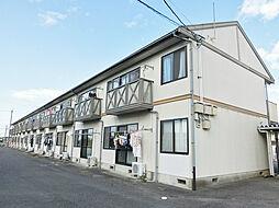 滋賀県蒲生郡日野町大字日田の賃貸アパートの外観